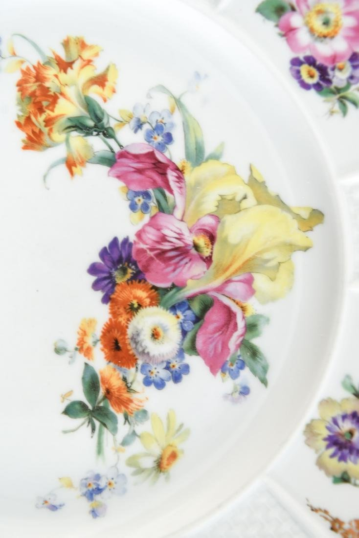(11) ROSENTHAL FLORAL DECORATED PORCELAIN PLATES - 3