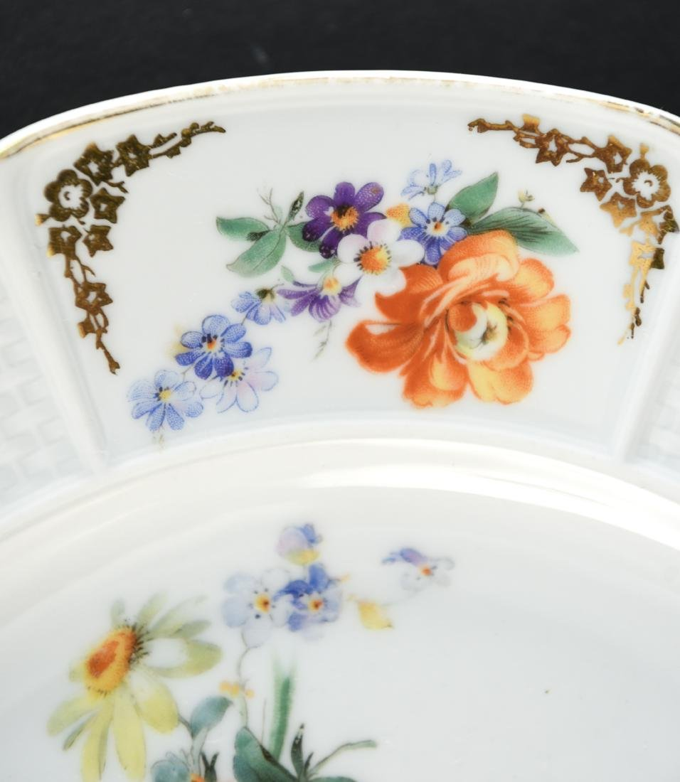 (11) ROSENTHAL FLORAL DECORATED PORCELAIN PLATES - 4