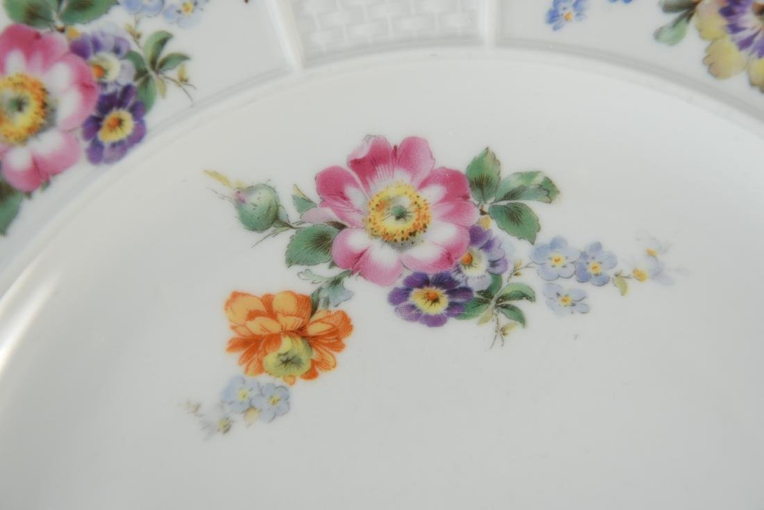 (11) ROSENTHAL FLORAL DECORATED PORCELAIN PLATES - 5