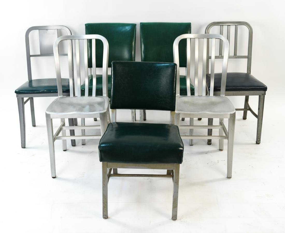 (7) INDUSTRIAL SIDE CHAIRS