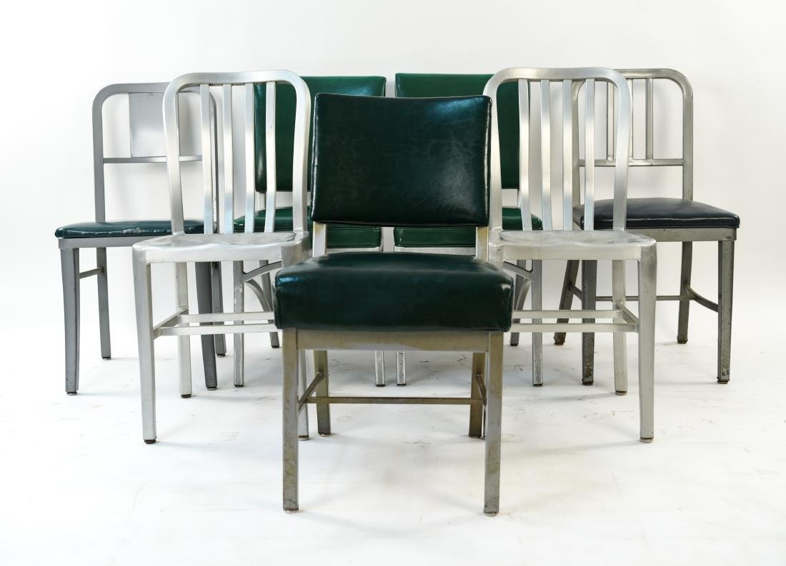 (7) INDUSTRIAL SIDE CHAIRS - 2