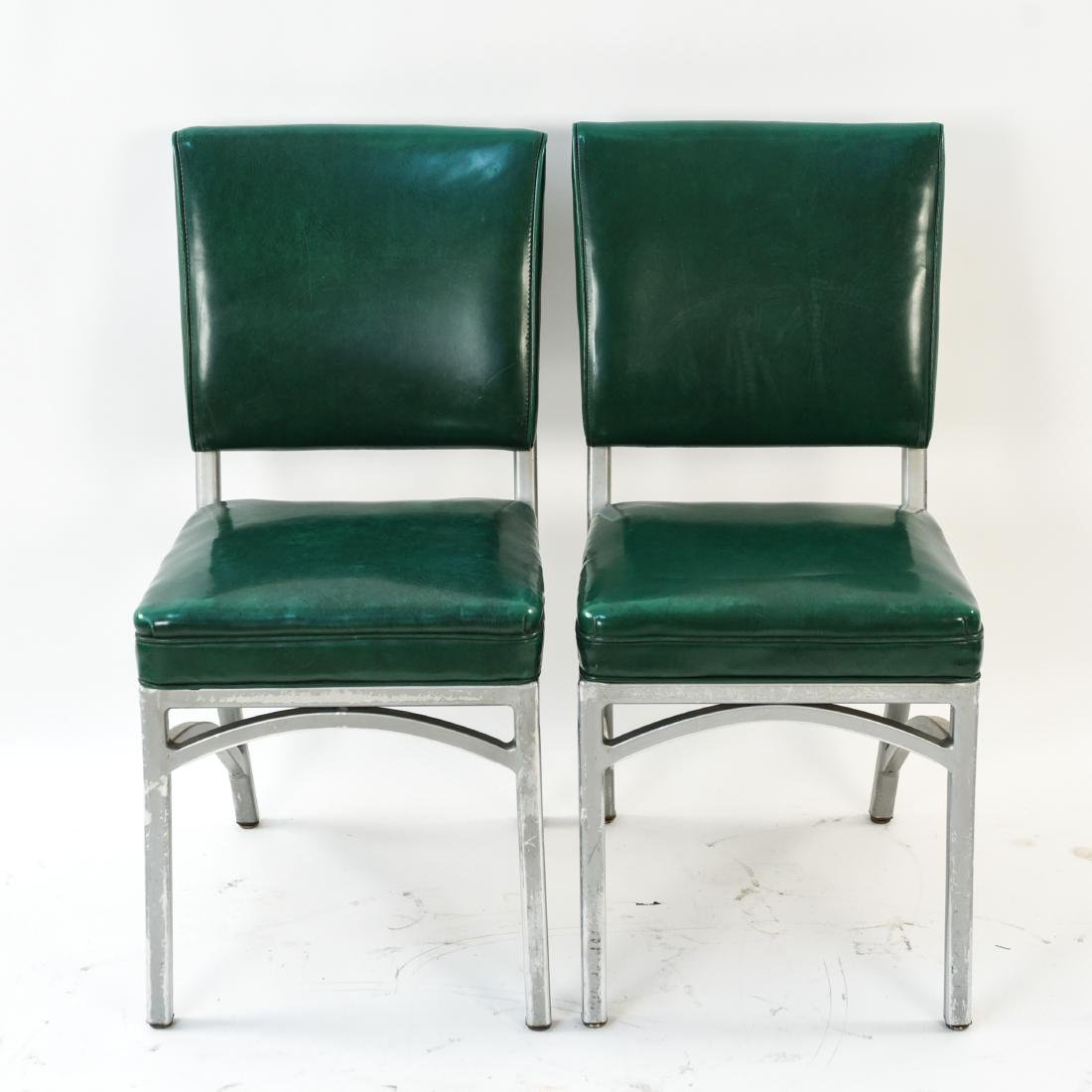 (7) INDUSTRIAL SIDE CHAIRS - 3
