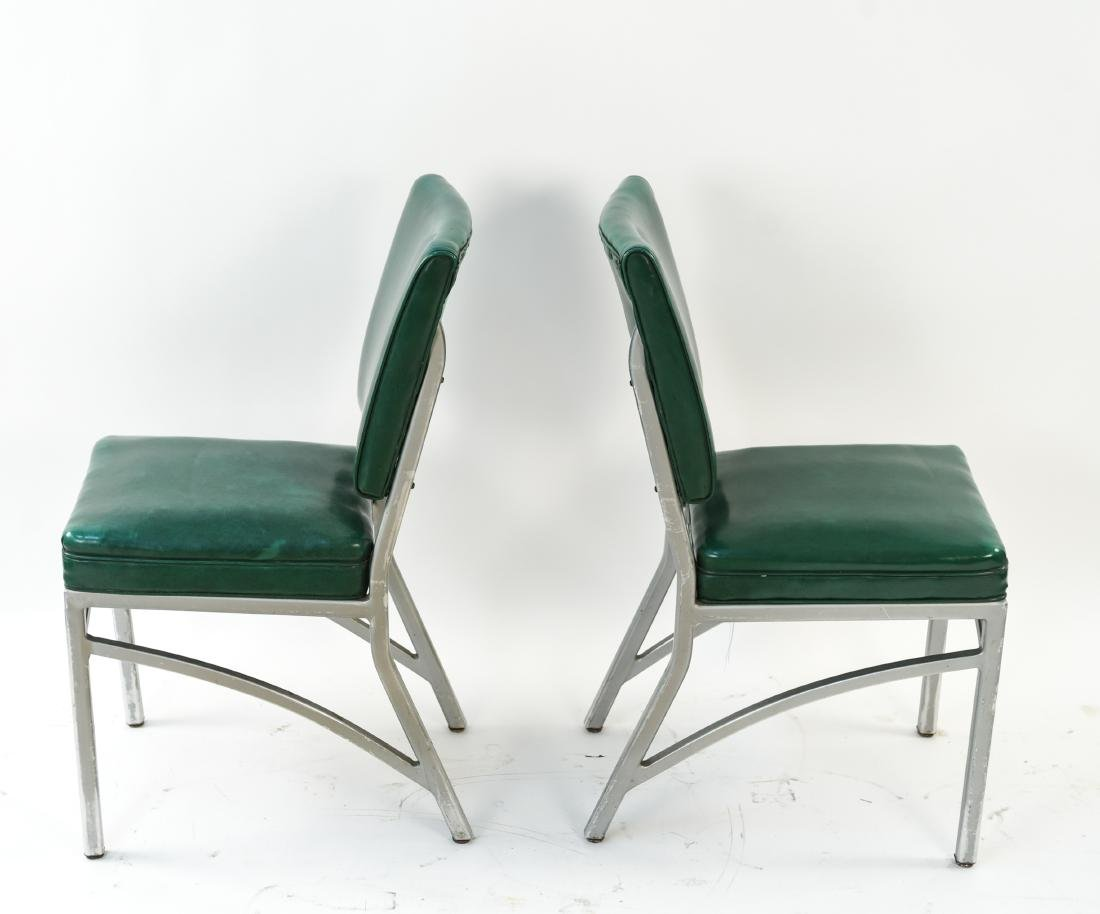 (7) INDUSTRIAL SIDE CHAIRS - 4
