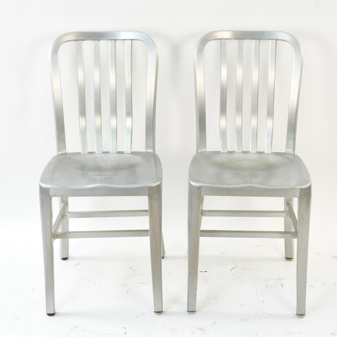 (7) INDUSTRIAL SIDE CHAIRS - 6