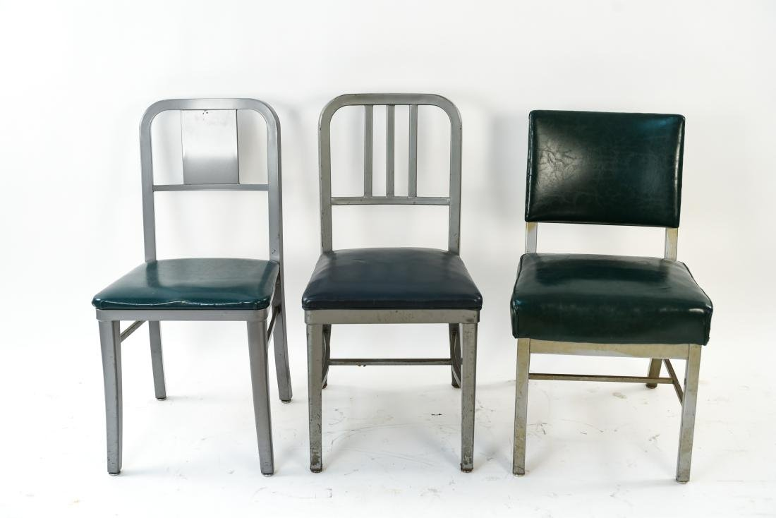 (7) INDUSTRIAL SIDE CHAIRS - 8