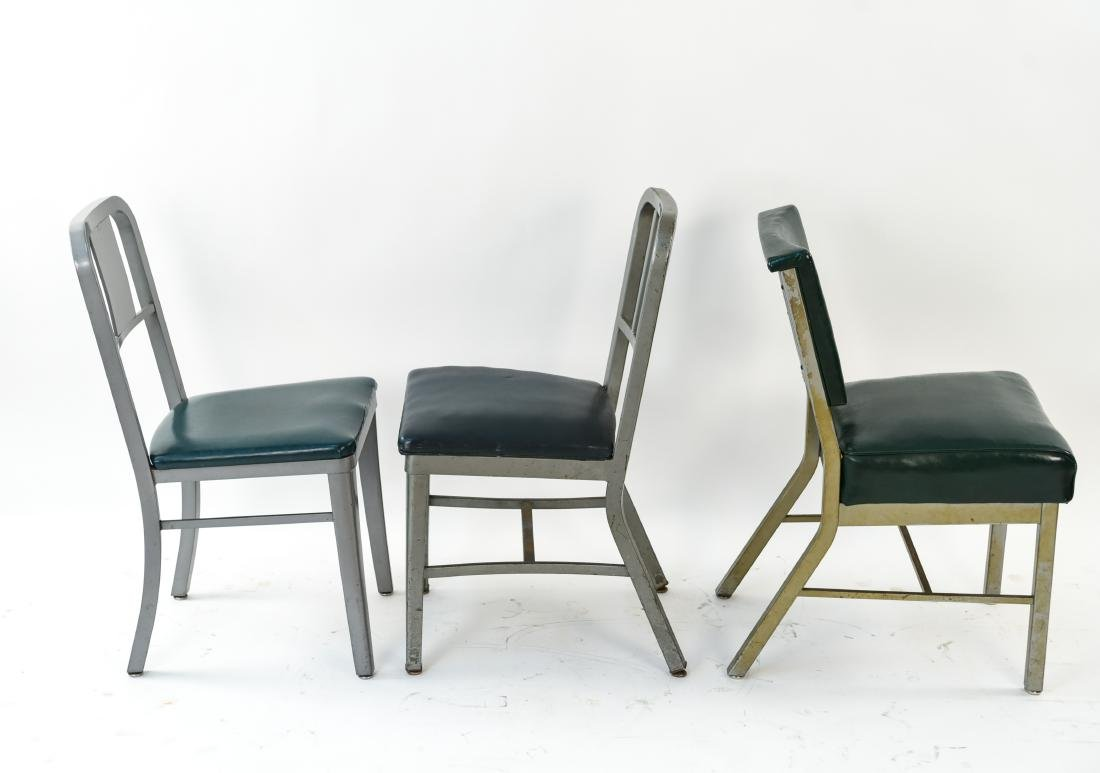 (7) INDUSTRIAL SIDE CHAIRS - 9