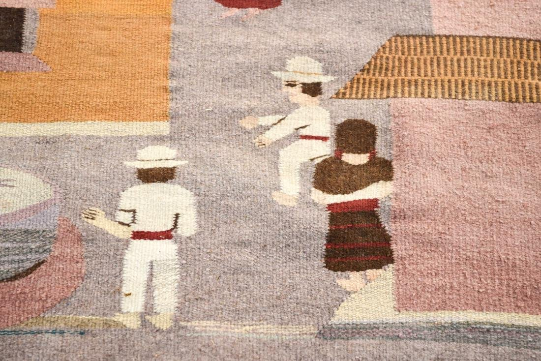 MEXICAN TAPESTRY BLANKET - 2