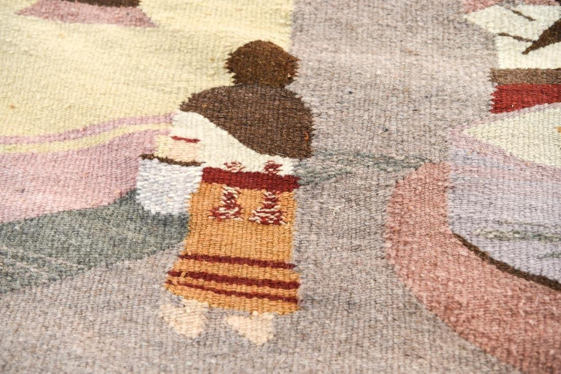 MEXICAN TAPESTRY BLANKET - 6