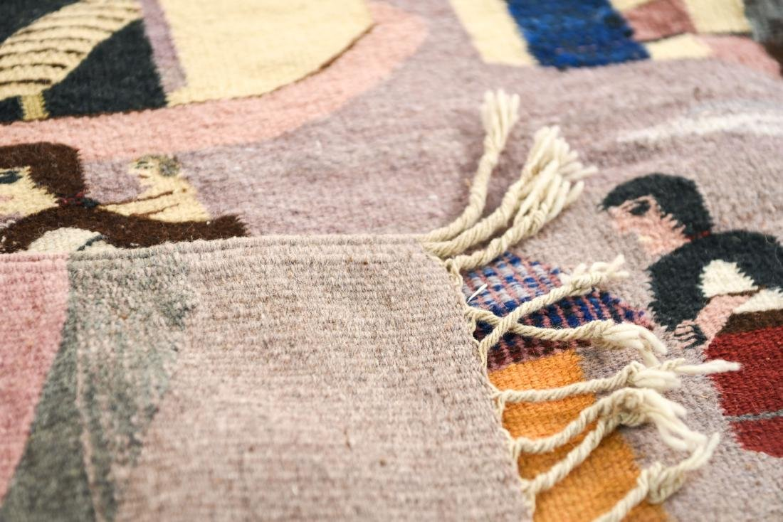 MEXICAN TAPESTRY BLANKET - 9