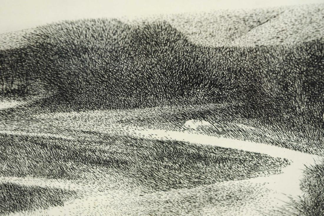 RICHARD CLAUDE ZIEMANN (B. 1932) ETCHING - 8