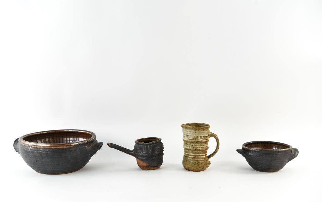 GROUPING OF STUDIO POTTERY - 2