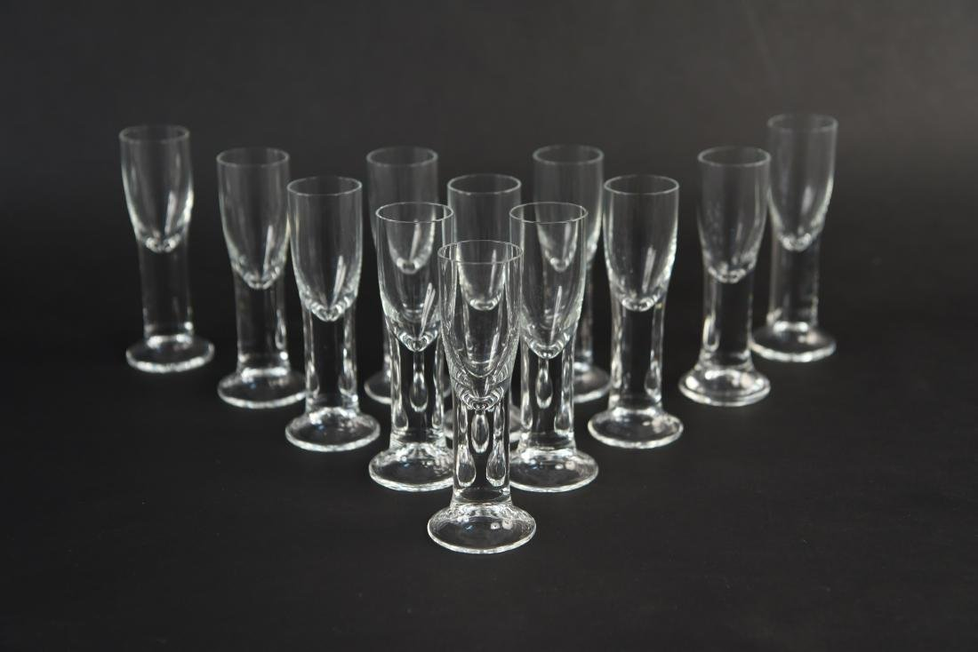 DECANTER & CORDIAL GLASS GROUPING - 2
