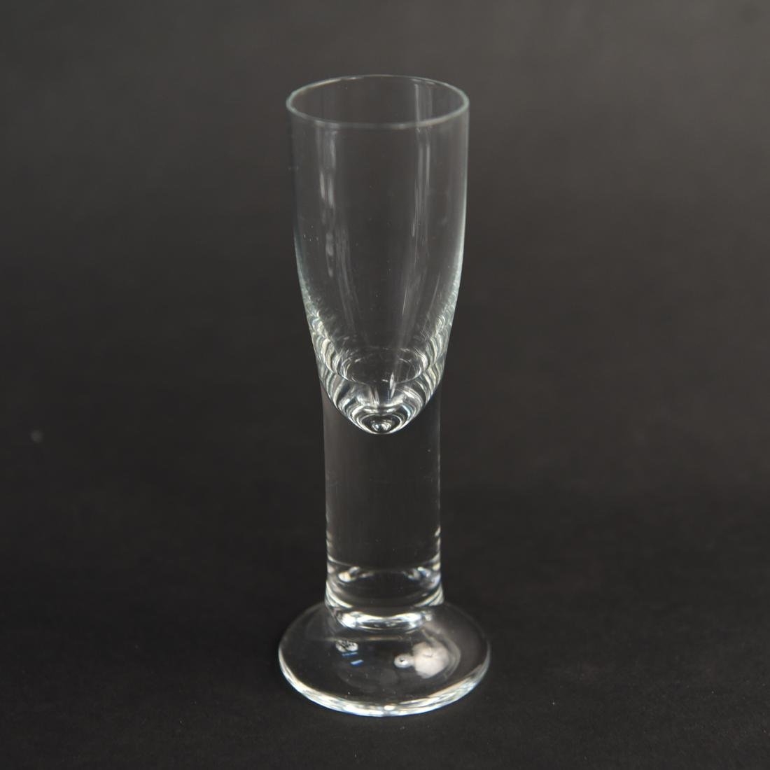 DECANTER & CORDIAL GLASS GROUPING - 4