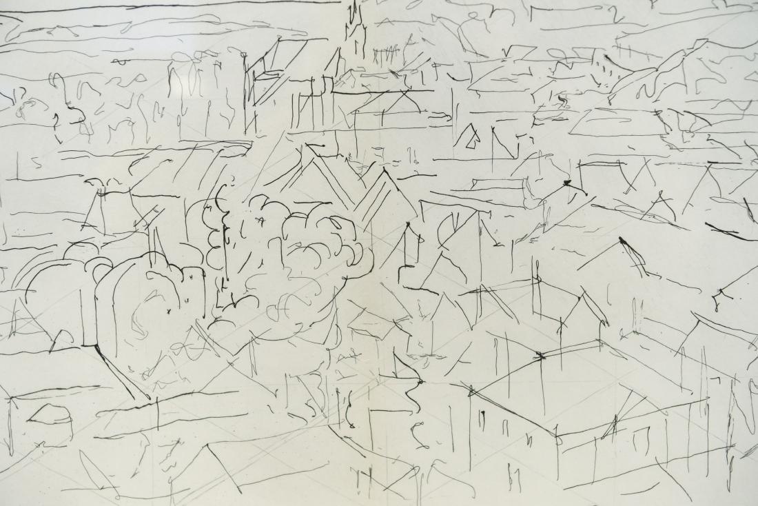 JACQUES VILLON CITYSCAPE LITHOGRAPH - 2