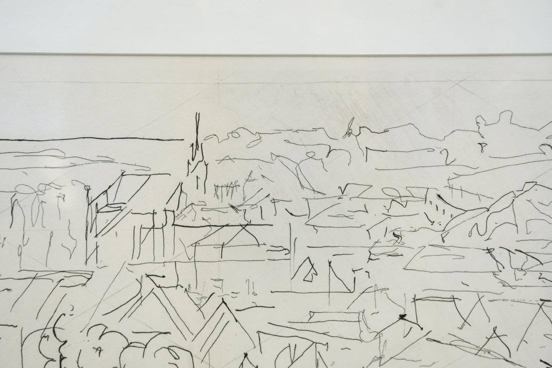 JACQUES VILLON CITYSCAPE LITHOGRAPH - 3