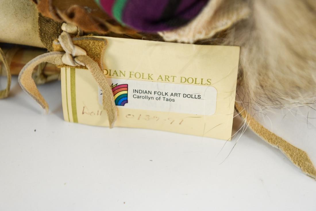 INDIAN FOLK ART DOLL - 5
