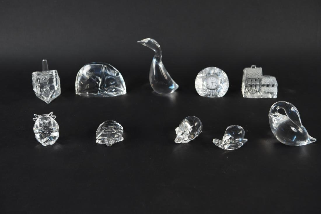 CUT CRYSTAL AND GLASS GROUPING - 2
