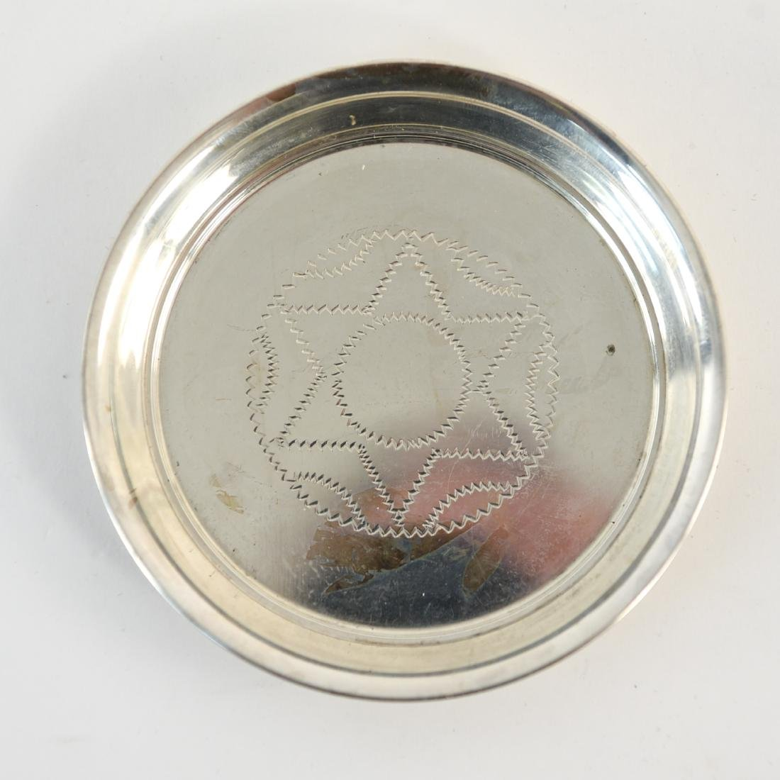 GROUPING OF SILVER SERVING WARE INC. STERLING - 7