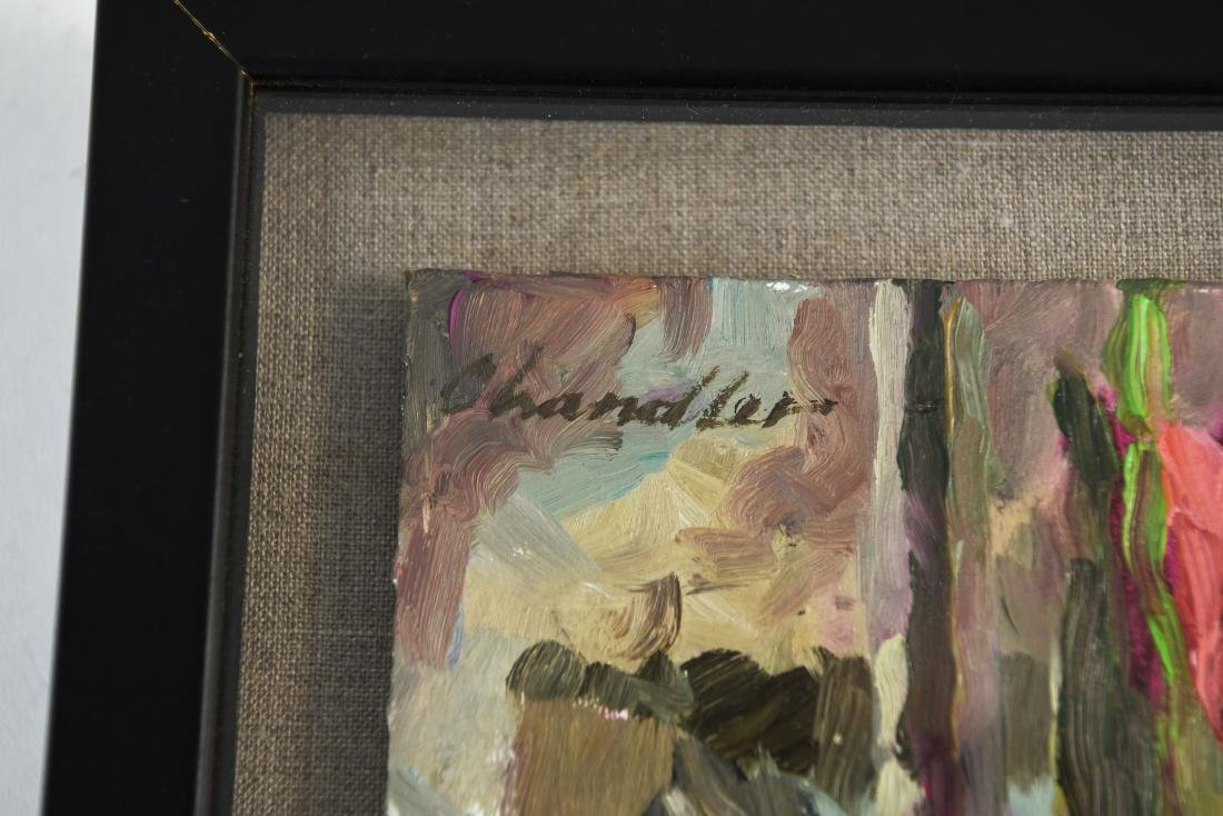 (2) RICHARD LANG CHANDLER PAINTINGS - 9