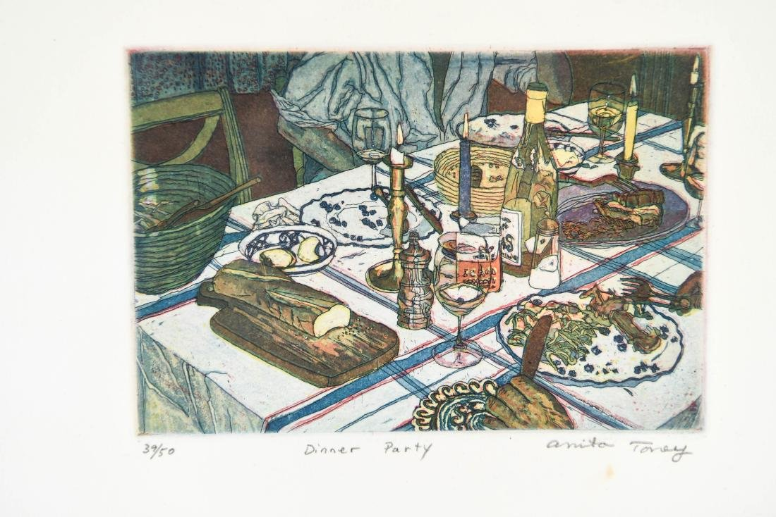 (2) ANITA TONEY ETCHINGS - 2