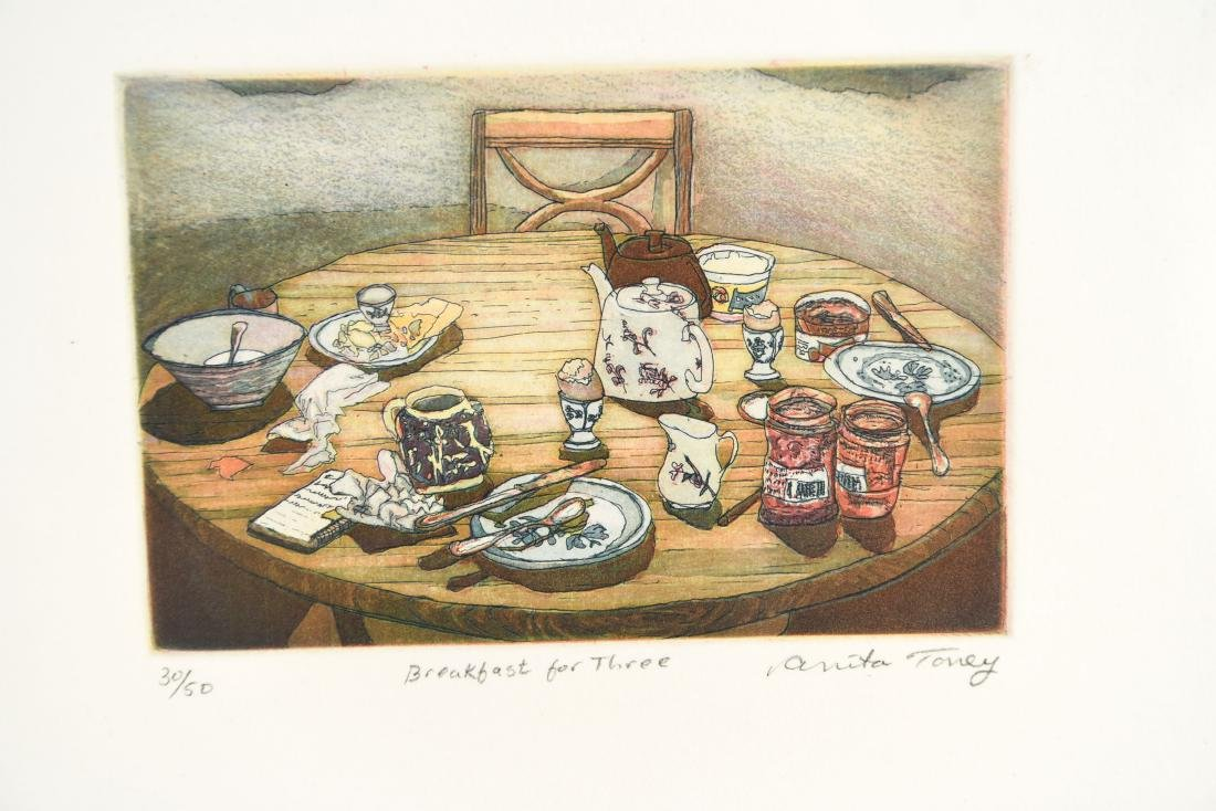 (2) ANITA TONEY ETCHINGS - 3