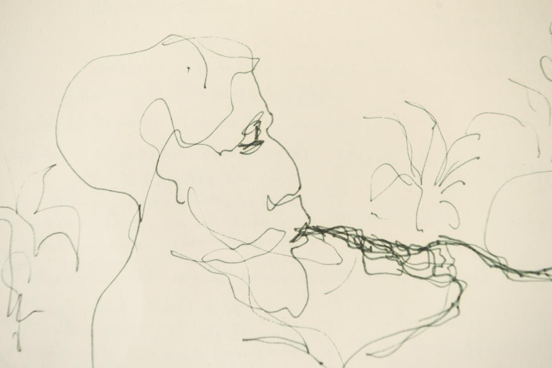 ELAINE SCHMITT URBAIN (1925-2004) DRAWING - 5