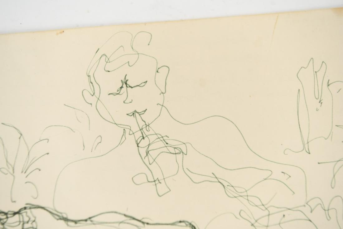 ELAINE SCHMITT URBAIN (1925-2004) DRAWING - 7