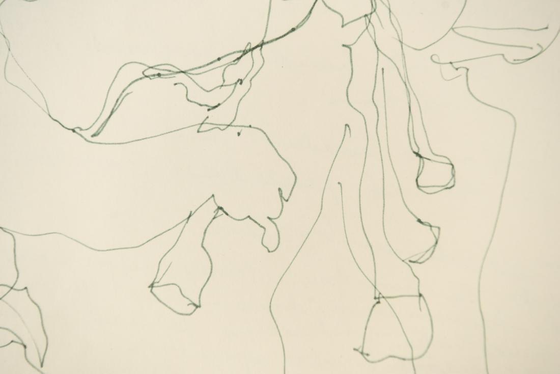 ELAINE SCHMITT URBAIN (1925-2004) DRAWING - 9