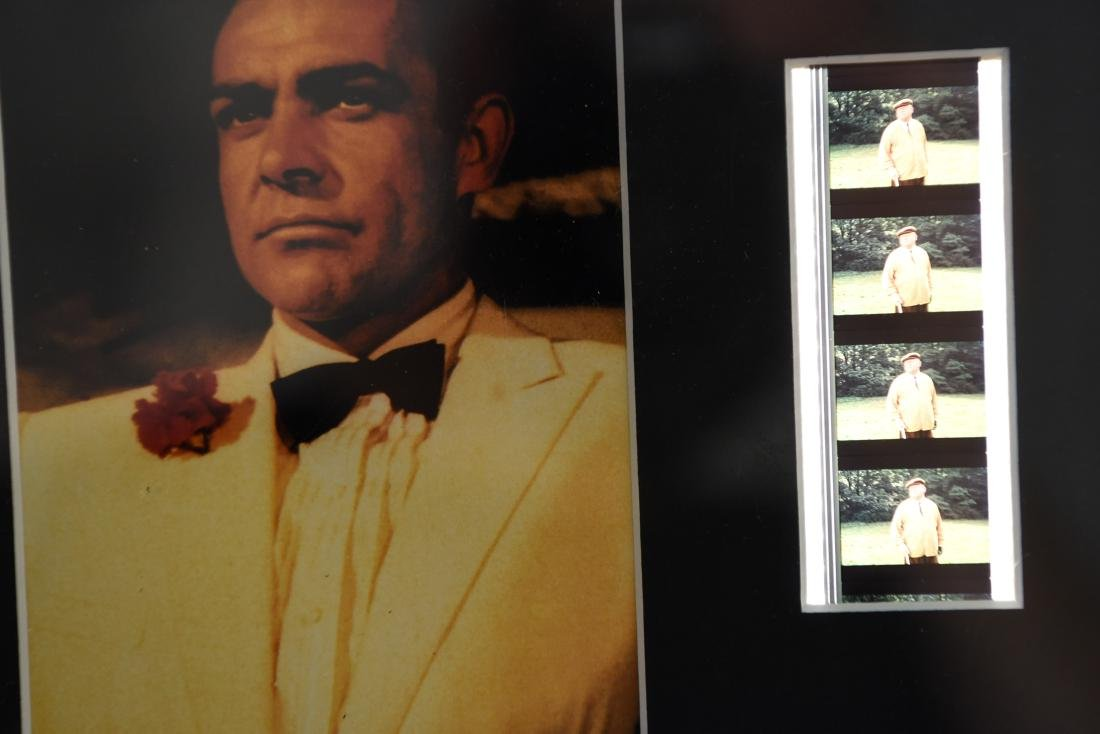 JAMES BOND FRAMED DOUBLE FILM CELL - 5