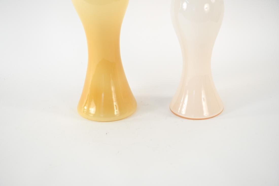 (2) MID-CENTURY ITALIAN CASED GLASS DECANTERS - 4