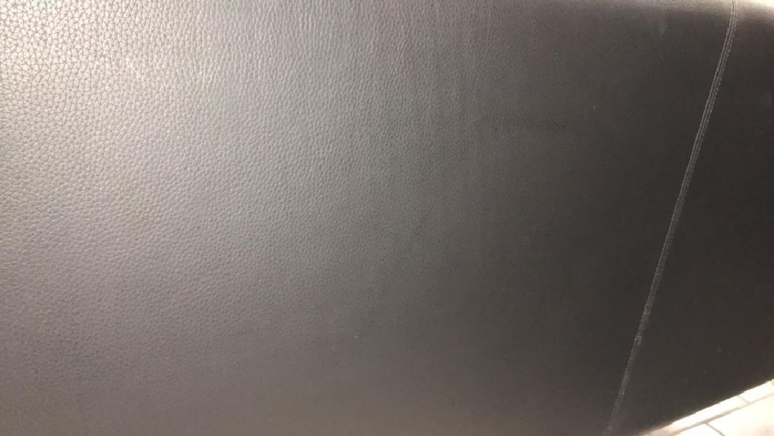 STOUBY BORGE MOGENSEN STYLE LOVESEAT SOFA BLACK - 8