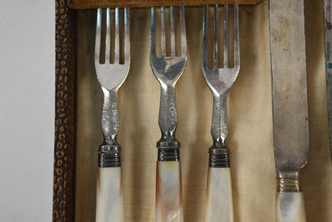 MOTHER OF PEARL HANDLED CUTLERY - 3