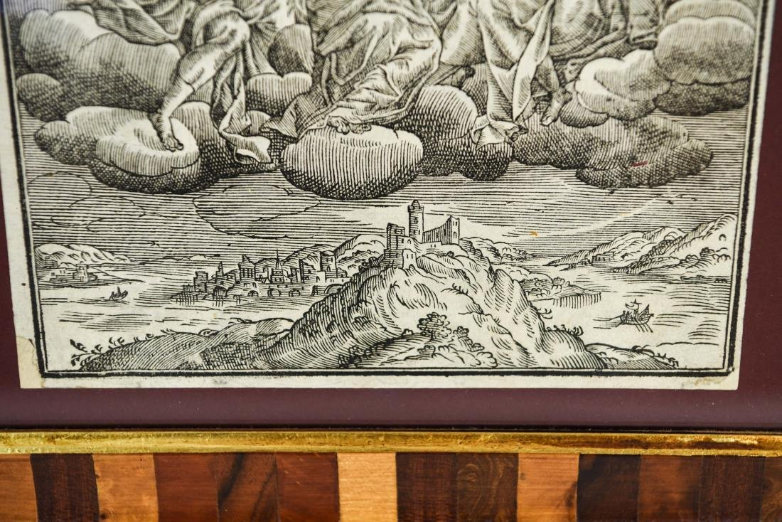 RENAISSANCE WOODCUT OF CHRIST IN MAJESTY - 5