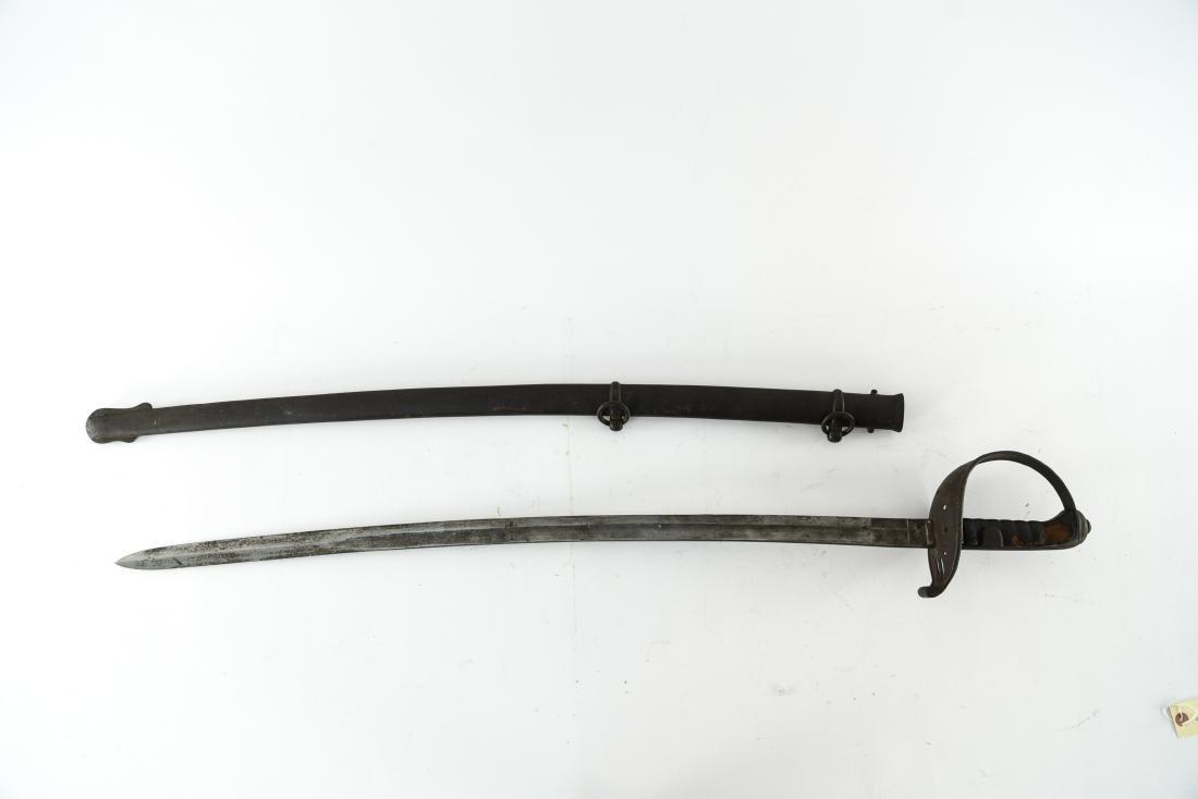 19TH C. S & K MARKED CAVALRY SWORD - 4