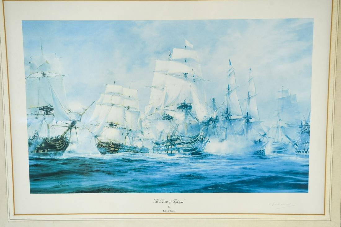 COLLECTION OF ADMIRAL NELSON PRINTS ETC. - 2