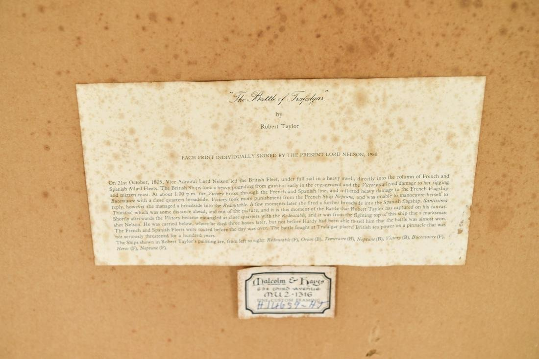 COLLECTION OF ADMIRAL NELSON PRINTS ETC. - 9