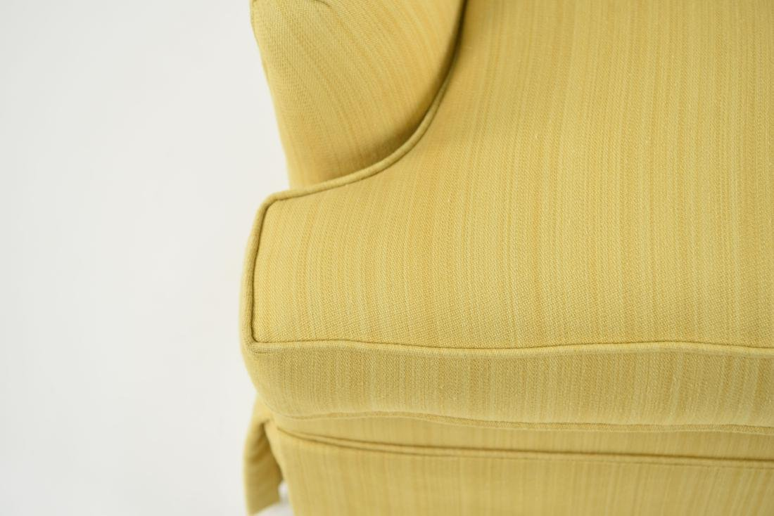 TUFTED YELLOW CLUB CHAIR - 6