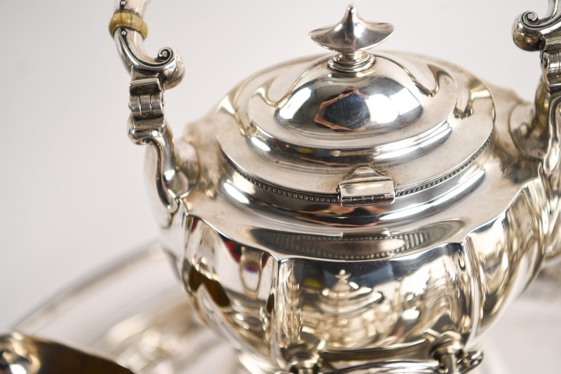 GORHAM STERLING SILVER TEA SET - 5