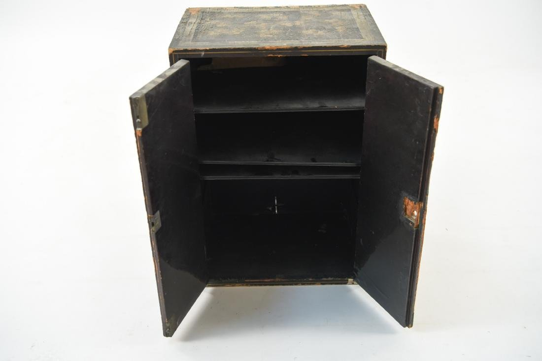 19TH C. JAPANESE LACQUERED BOX - 7