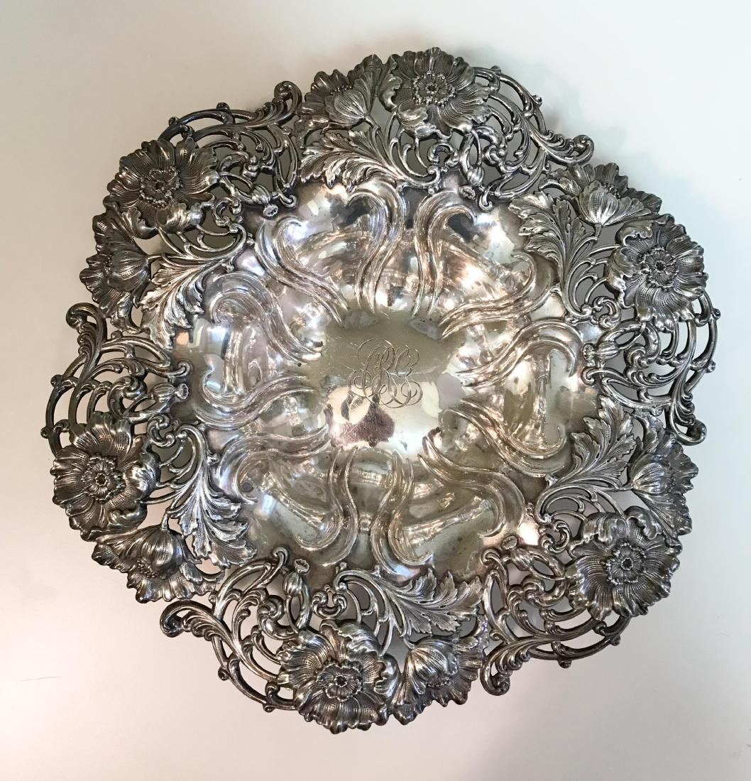 REPOUSSE STERLING SILVER BOWL