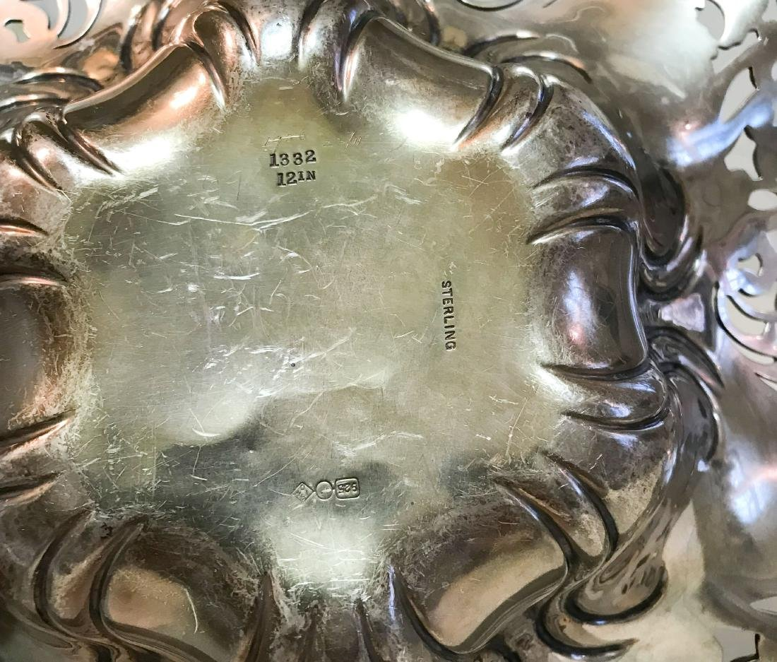 REPOUSSE STERLING SILVER BOWL - 5