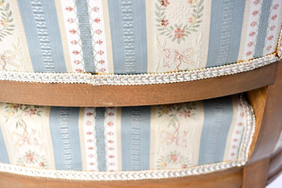 PAIR OF FRENCH CANED BERGERE CHAIRS - 10