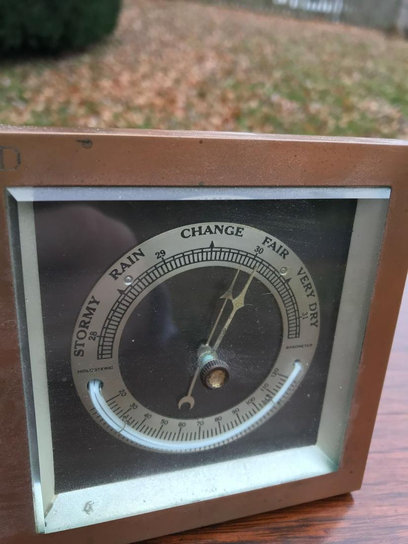 CHELSEA ABERCROMBIE CLOCK AND WEATHER STATION - 6