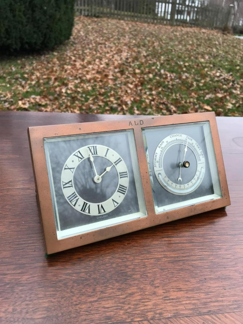CHELSEA ABERCROMBIE CLOCK AND WEATHER STATION - 7