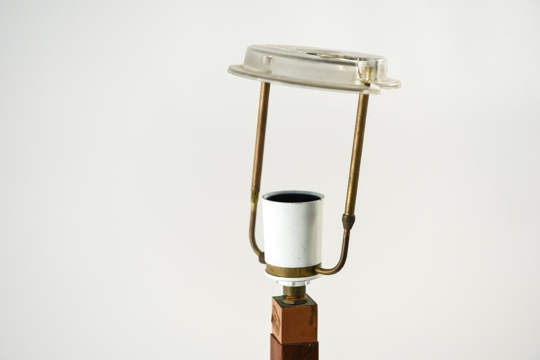 JO HAMMERBORG, FOG & MORUP ROSEWOOD FLOOR LAMP - 2