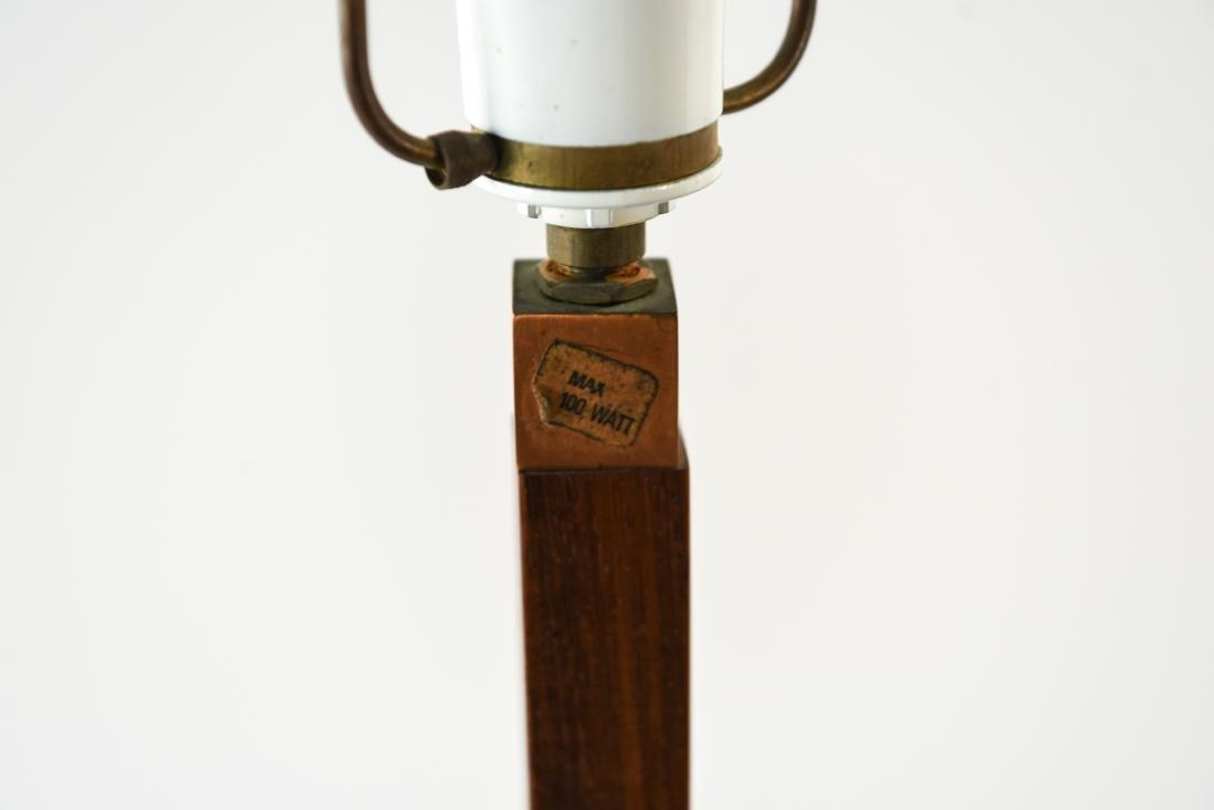 JO HAMMERBORG, FOG & MORUP ROSEWOOD FLOOR LAMP - 3