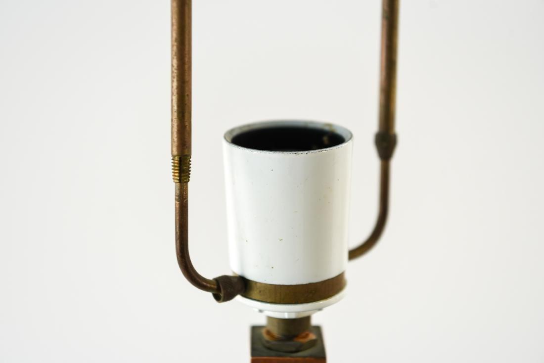 JO HAMMERBORG, FOG & MORUP ROSEWOOD FLOOR LAMP - 4