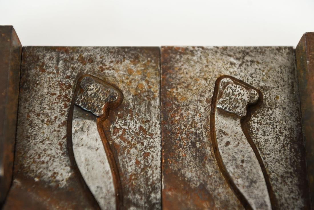 INDUSTRIAL STEEL SPOON & FORK MOLDS - 4