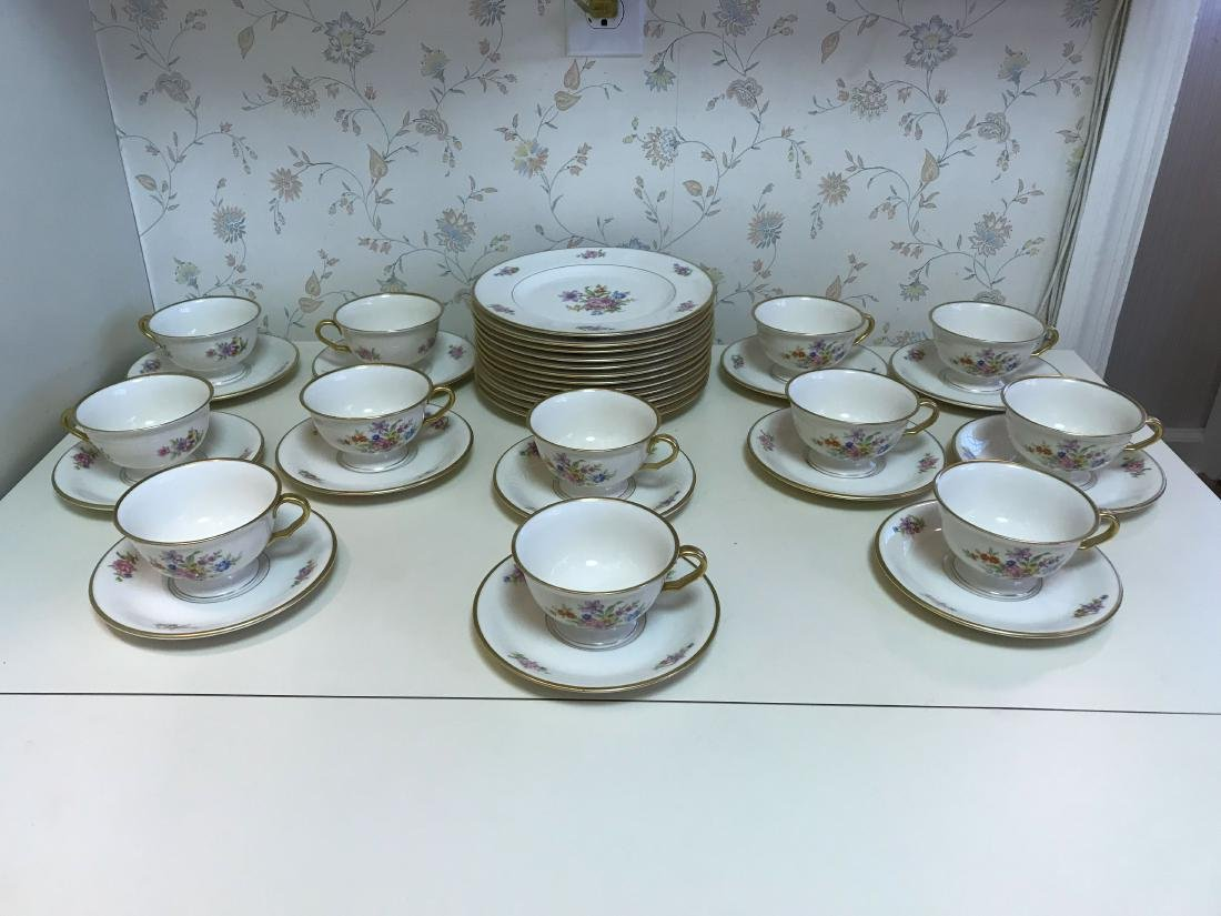 PICKARD PORCELAIN SERVICE GROUPING - 2