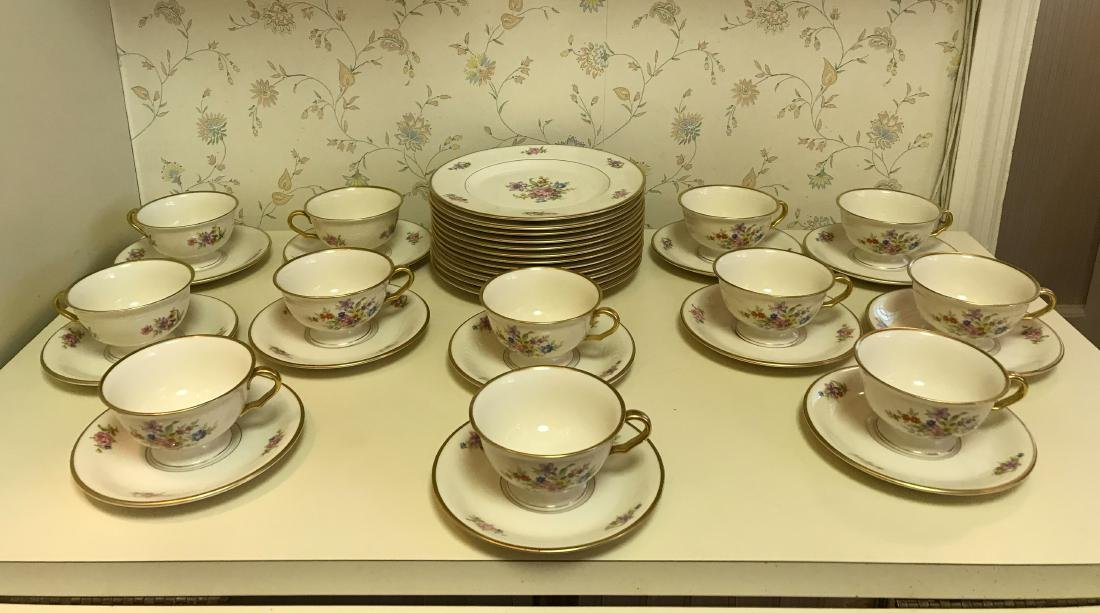 PICKARD PORCELAIN SERVICE GROUPING - 3